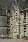 France, castle of Chateaudun Stock Photography