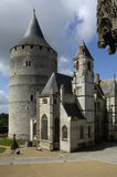 France, castle of Chateaudun Royalty Free Stock Photography