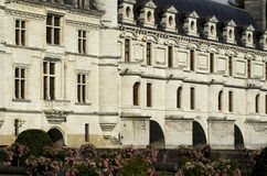 France, castle of Chenonceau Royalty Free Stock Photography