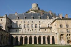 France, castle of La Roche Guyon Royalty Free Stock Image