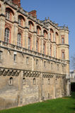France, castle of  Saint Germain en Laye Stock Photo