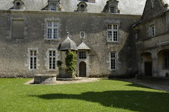 France, castle of  Talcy Royalty Free Stock Photo
