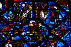 France, cathedral of Bourges Stock Image