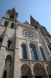 France, the cathedral of Chartres in Eure et Loir Stock Image