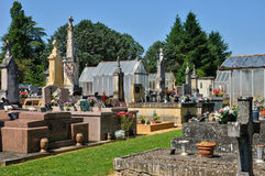 France, cemetery of Proissans in Perigord Royalty Free Stock Photo