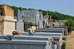 France, cemetery of Veyrignac in Perigord Stock Image