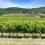France - Chartreuse de Valbonne stock image