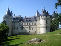 FRANCE Chaumont-sur-Loire Castle Royalty Free Stock Photo