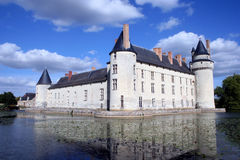 France Château Plessis-Bourre Stock Photo