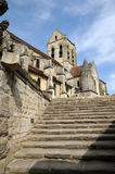 France, the church of Auvers sur Oise Royalty Free Stock Photo