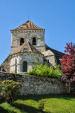 France, the church of Fontenay Saint Pere in Les Yvelines Royalty Free Stock Image