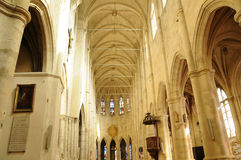 France, the church of Montfort l Amaury Stock Photography