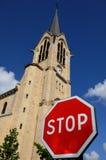 France, church Saint Pierre, Saint Paul, Les Mureaux Royalty Free Stock Image