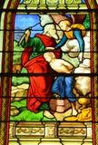 France, church Saint Pierre, Saint Paul in Les Mureaux Stock Images