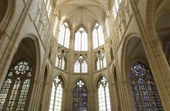 France, church of Saint Sulpice Stock Photo