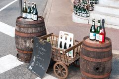 France Cider Stock Photography