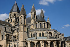 France, the city of Caen in Normandie Royalty Free Stock Photography
