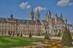 France, the city of Caen in Normandie Stock Image