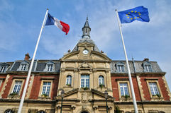 Free France, City Hall Of Cabourg In Normandie Royalty Free Stock Photography - 36505087