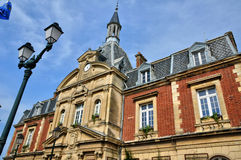 Free France, City Hall Of Cabourg In Normandie Royalty Free Stock Image - 36505446