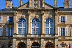 France, city hall of Sees in Normandie Stock Photo