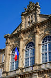 France, city hall of Sees in Normandie Royalty Free Stock Photography