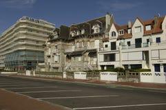France, the city of Le Touquet Paris Plage in Nord Pas de Calais Royalty Free Stock Photos