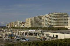 France, the city of Le Touquet Paris Plage in Nord Pas de Calais Stock Image