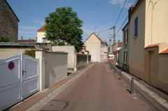 France, the city of Les Mureaux Stock Image