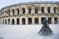 France. City Nim,  French Colosseum. Royalty Free Stock Photo