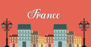 France classic place location Stock Photography