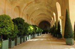 France,  classical Versailles palace Orangery Royalty Free Stock Photos