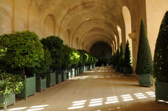 France,  classical Versailles palace Orangery Royalty Free Stock Photos