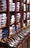 Cloth shop in Paris Royalty Free Stock Photo
