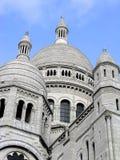 France coeur cupolas sacre Paryża fotografia stock