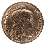 France coin Royalty Free Stock Image
