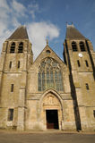 France, the collegiate church of Ecouis in l Eure Stock Images