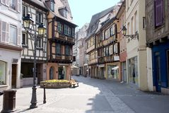 France, Colmar, medieval city Royalty Free Stock Image