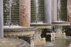 France, Colonnade Grove in Versailles Palace Royalty Free Stock Images