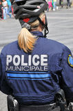 France, the community police in Les Mureaux Stock Photo