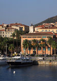 France Corsica Ajaccio harbor Royalty Free Stock Photography