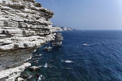 France, Corsica, Bonifacio Royalty Free Stock Photos