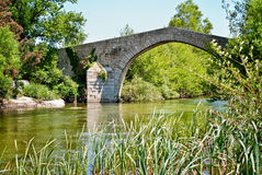 France, Corsica, old Bridge Royalty Free Stock Images
