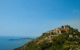 France. Cote Azur. French Riviera. Eze. Royalty Free Stock Images