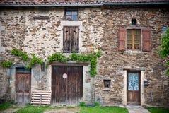 France Cottage stock photo