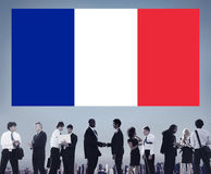 France Country Flag Nationality Culture Liberty Concept.  Royalty Free Stock Photography