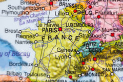 France country map . Stock Photos