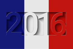 France 2016 design Stock Photography