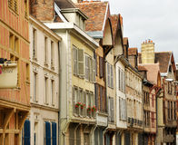 France Dijon house. France, Dijon typical house view Royalty Free Stock Photography