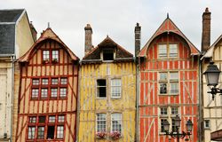 France Dijon house Royalty Free Stock Photo